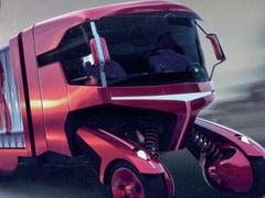 Design Camion Del Futuro Stralis Engage E Cabina Monolocale